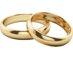 Gold Wedding Rings Png